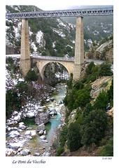 Viaduc de Vivario-Veanco sur le Vecchju