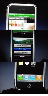 Apple iPhone Interface