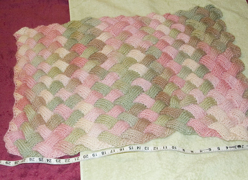 Blanket Before blocking