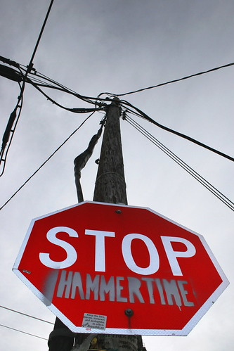 stop hammertime stencil