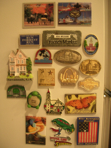 Our refrigerator magnet collection