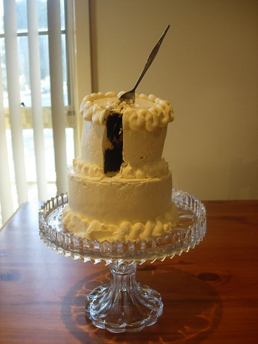 Trial Buttercream Wedding Cake -  Mini