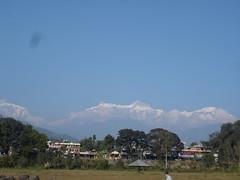 Pokhara and Hymalays2