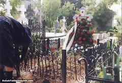 Ceaucescu's wife's grave