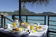 Bora Bora breakfast