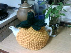 Still Life with Pineapple Teacosy