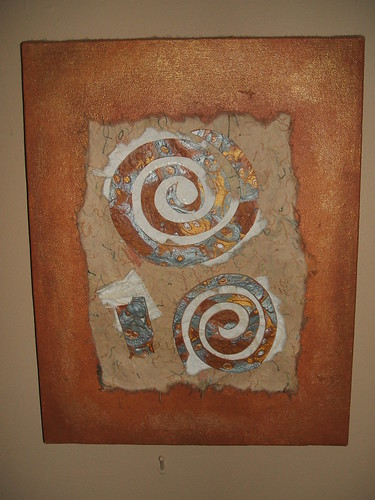 Mokume Gane Mixed Media Wall Art