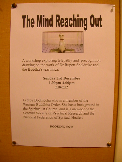 Glasgow 'Mind Reaching Out' poster