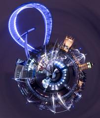 Planet London (JeffOliver) Tags: blue london eye thames globe waterloo planet hipbotunsquare