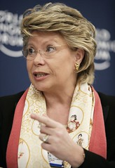 Viviane Reding - World Economic Forum Annual M...