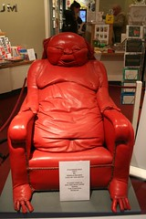 Chairman Mao (Gareth Hacking) Tags: red london 1971 chair unique gerald unusual scarfe chairmanmao cartoonmuseum garethhacking