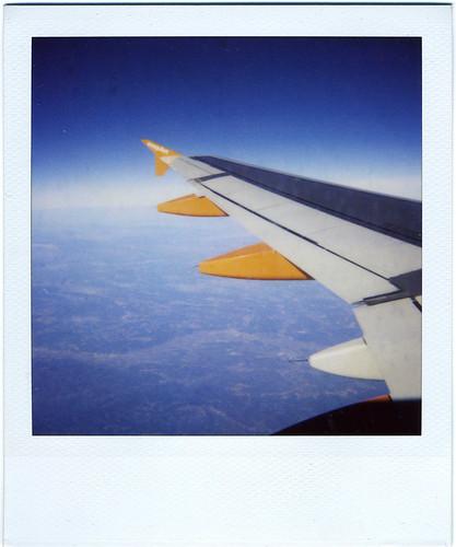 Volando hacia Milán