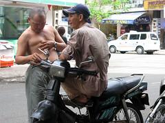 Motorbike? Marijuana? / Vietnam, Saigon (flydime) Tags: trip travel vacation southeastasia vietnam motorbike exotic marijuana saigon mekong indochina