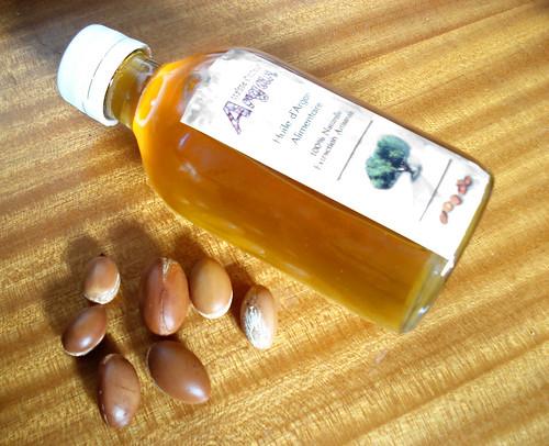 Argan huile et noyaux