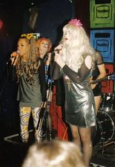 Six Inch Killaz live @ Club Vaseline 20 Apr 96 #9 (Luis Drayton) Tags: music rock trash drag glamour punk jasmine livemusic band makeup mona holly transgender rockmusic tranny singer blonde transvestite punkrock glam luis pearl dragqueen guitarist genderqueer rockandroll vaseline missk glamourpuss sixinchkillaz queercore glamourpussy monacompleine hollycock jasminesalome luishatred