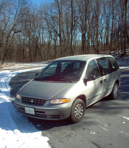The minivan, Shenandoah National Park