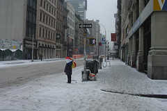 New York in the snow #3