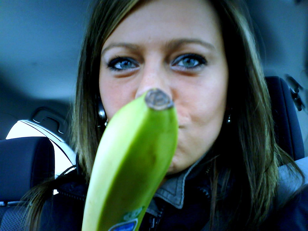 ... Banana on the road ...