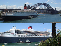 Queen Mary 2 & Queen Elizabeth 2