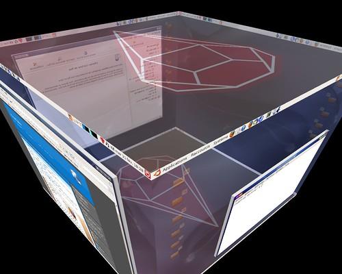 le cube avec les nouvelles décorations