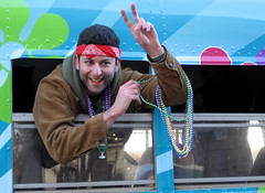 Burlington Mardi Gras: peace