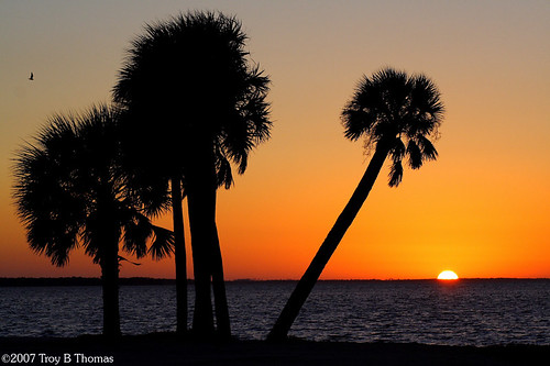 Sanibel Causeway Sunset; Photography by Troy Thomas