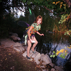 Tinkerbell by the water (DWRowan) Tags: costume wings magic tinkerbell peterpan fairy faerie faries