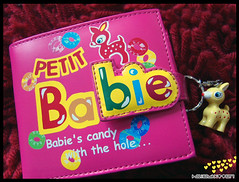 Petit Babie Purse (Hailey Kitten) Tags: pink cute deer fawn purse kawaii rare cutepurse petitbabie kawaiipurse
