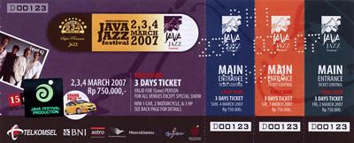 Java Jazz Festival 2007
