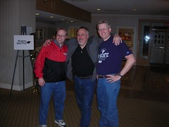 Eric Langhorst, David Warlick, and Wesley Fryer