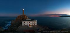 Faro de Cabo Vilano (Emilio Rodríguez Álvarez) Tags: lighthouse faro camariñas galicia costa marina sea océano atlántico panorámica canon eos 7d tokina 11 16 28