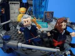 Nope Nope Nope (MrKjito) Tags: lego minifig reverse flash doctor who legends tommorrow tardis 12th clara hijack time travel