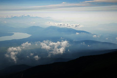Lake And Cloud Below Mount Fuji (pokoroto) Tags: lake and cloud below mount fuji  fujisan yamanashi prefecture   japan 8   hachigatsu hazuki leafmonth 2016 28 summer august