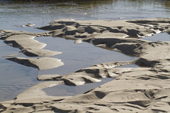 At Tide's Turning (brucetopher) Tags: sand ripple patterns flow water river stream brook tide tidal ridge wash turn turing floweing movingwater beach sea ocean saltwater