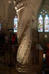 Rosslyn Chapel, Roslin, Scottland (selecshine) Tags: mystery scotland code pillar davinci chapel carving apprentice templar roslin rossly