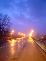 orange street light (im_fluss) Tags: street lamps dmmerung strae dawning straenlaternen