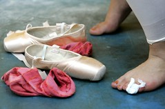 The pain (ido1) Tags: ballet feet israel pain hurt shoes finger leg wound shoham