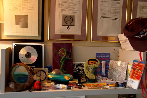 ego - paul's shelf at work