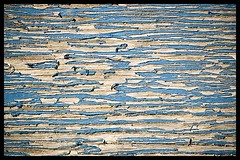 Paint (MitchRJ81) Tags: blue paint patterns faded