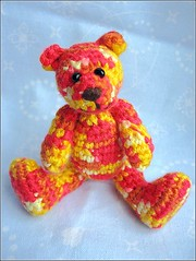 amibear20061215 001 (ccyytt) Tags: bear orange crochet softie amigurumi usewhatyouhave