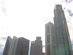 The CBD in Singapore (lloydi) Tags: singapore cbd centralbusinessdistrict