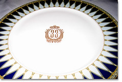 Club 33 plate (FrogMiller) Tags: china dinner disneyland plate neworleanssquare club33 ocbarristers