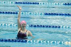 One Hand Up (Bostich) Tags: vacation kim sydney australia synchro sydneyolympicpark