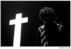 Justice (Simon Grossi) Tags: bw music festival justice concert dj live livemusic electro trans rennes because musique croix   zik transmusicales i500  edbanger edbangerrecords lestrans jusice interestingness