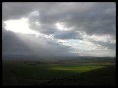 spotlight on wiltshire (Gail Steeden (Delderfield)) Tags: uk sky downs spotlight wiltshire pewseyvale