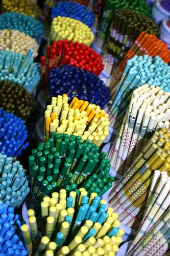 Colorful Sets Of Chinese Chopsticks