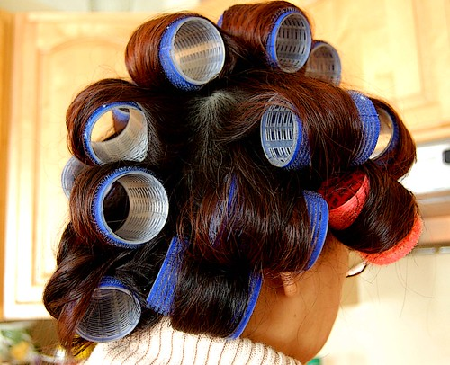 Morning Hair Rollers