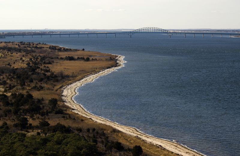 fire island and the bridge