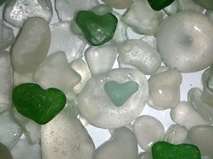 Hearts for you (rebranca46) Tags: white verde green heart 2006 cuori bianco seaglass