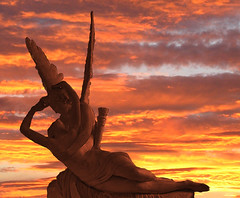The Encounter of Cupid and Psyche (dujarandille) Tags: sunset love creation cupid psyche yourfaves outstandingshots 25faves abigfave dujarandille frhwofavs